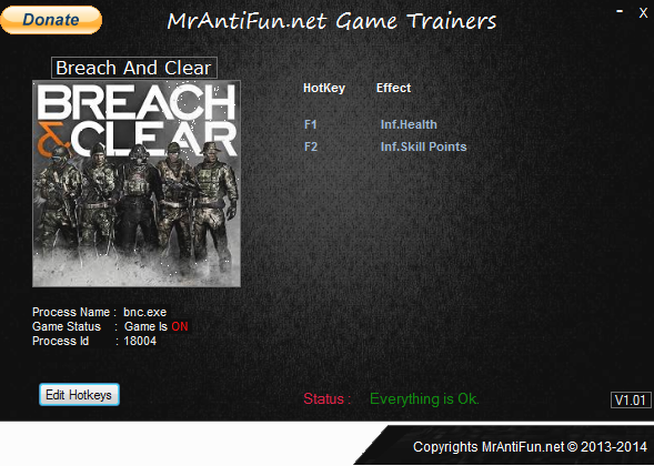 Breach and clear V4.2.2.12621 Trainer +2 MrAntiFun