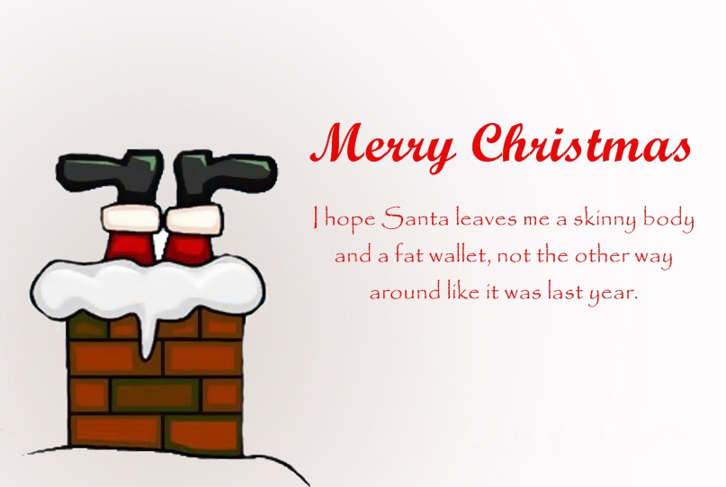 Funny Santa Claus Quotes Image