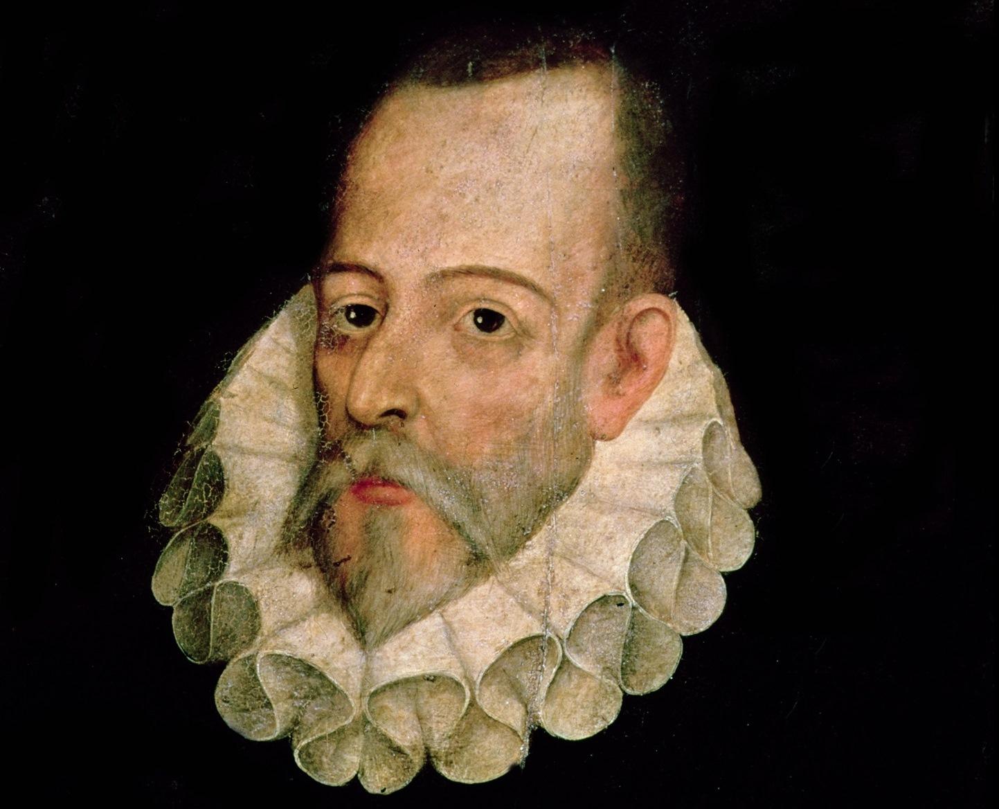 Cervantes a través  de la Biblioteca  Nacional