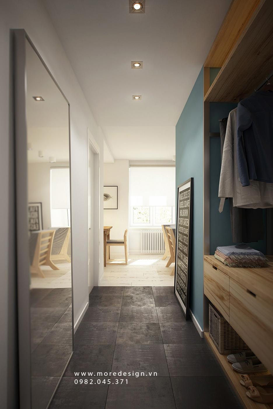 Nội thất căn hộ chung cư nhỏ