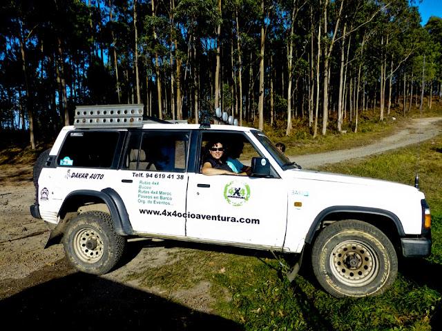 Ruta 4x4 Monte Jata, comarca de Uribe