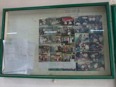 Papan Informasi dan Majalah Dinding Masjid Nurul Anwar Plaza Blok M Jakarta Pusat