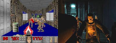 Comparación entre Doom y Doom 3.