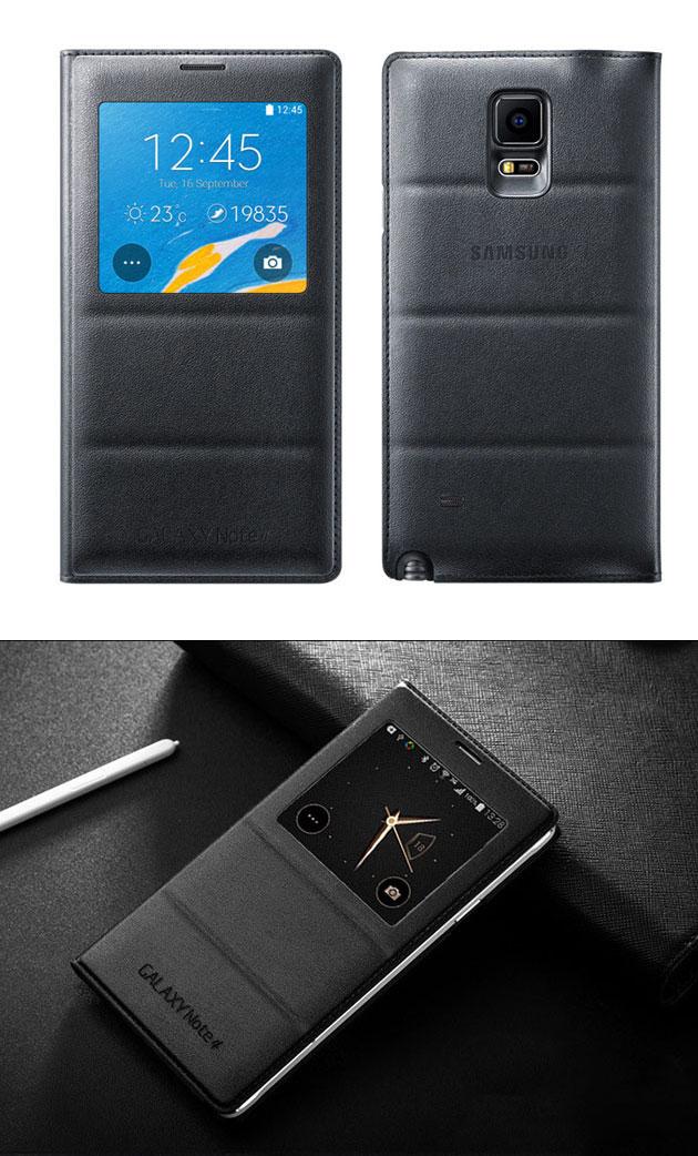 เคส S-View Note 4 รหัสสินค้า 131039 สีดำ
