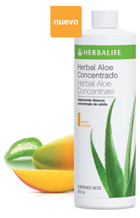 herbal aloe concentrado de mango