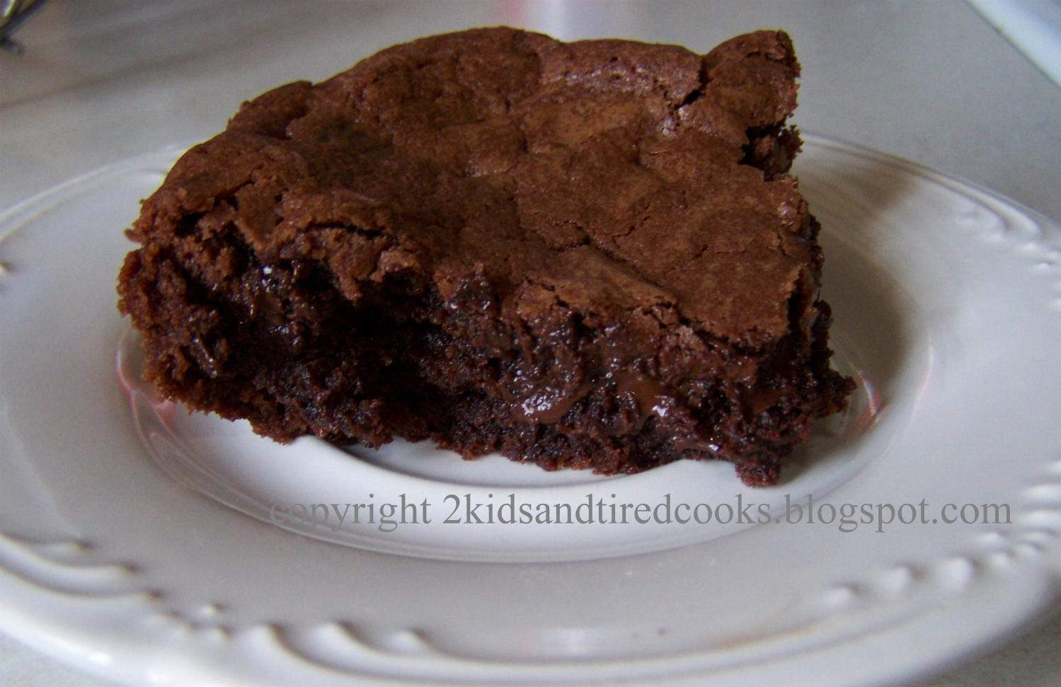 Kids and Tired Cooks: Cocoa Brownies