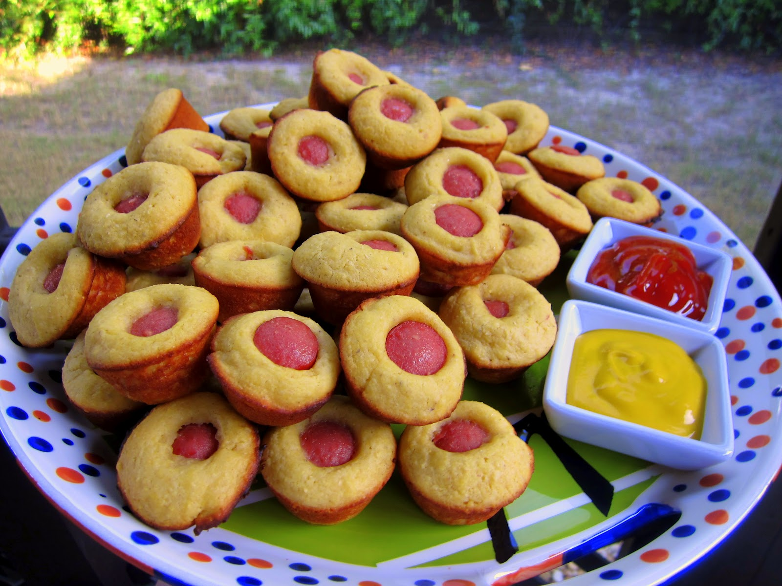 Corn Dog Muffins - Football Friday | Plain Chicken