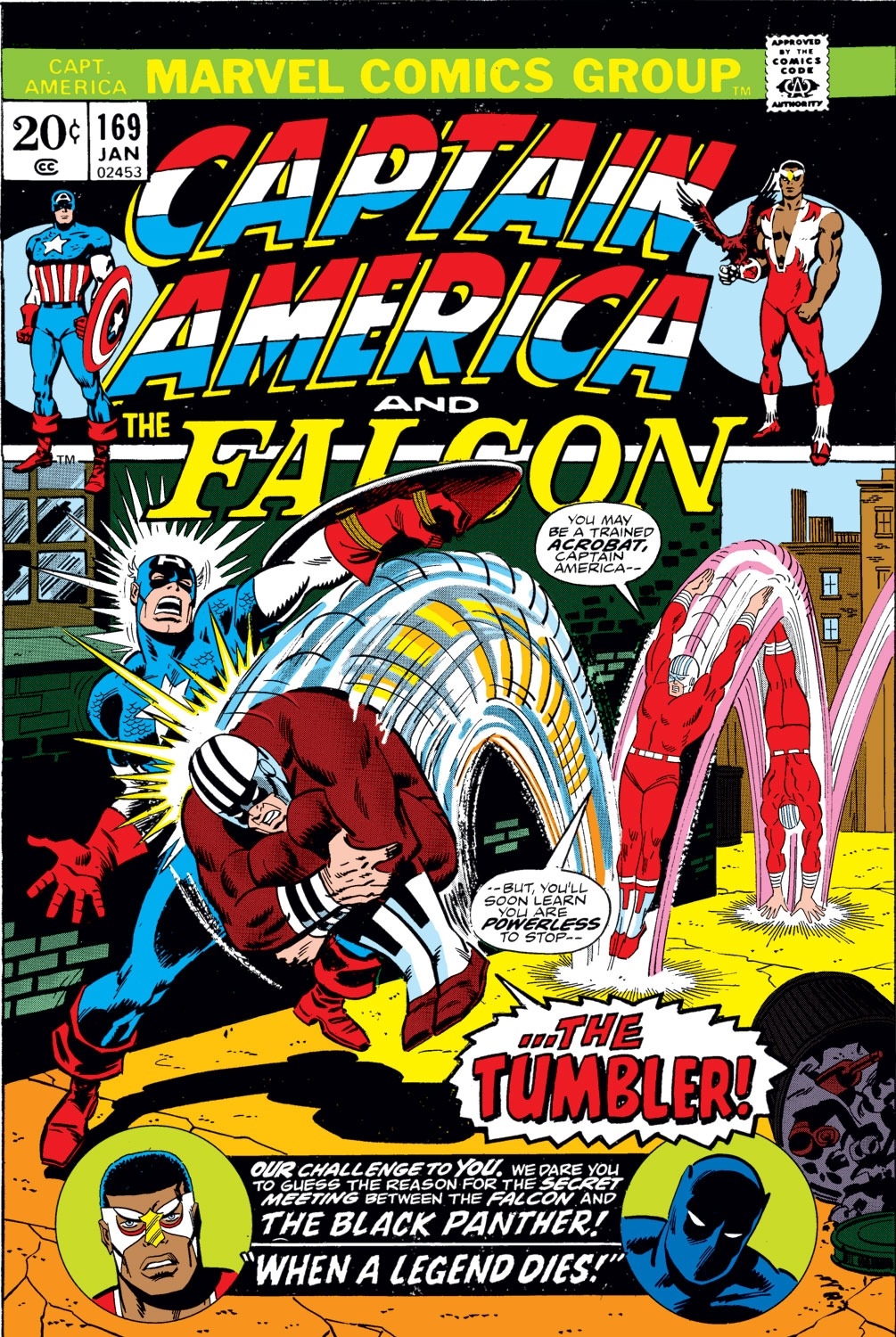 Captain America (1968) Issue #169 #83 - English 1