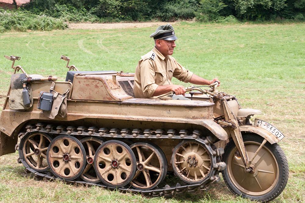SdKfz 2 Kettenkrad ternavasso
