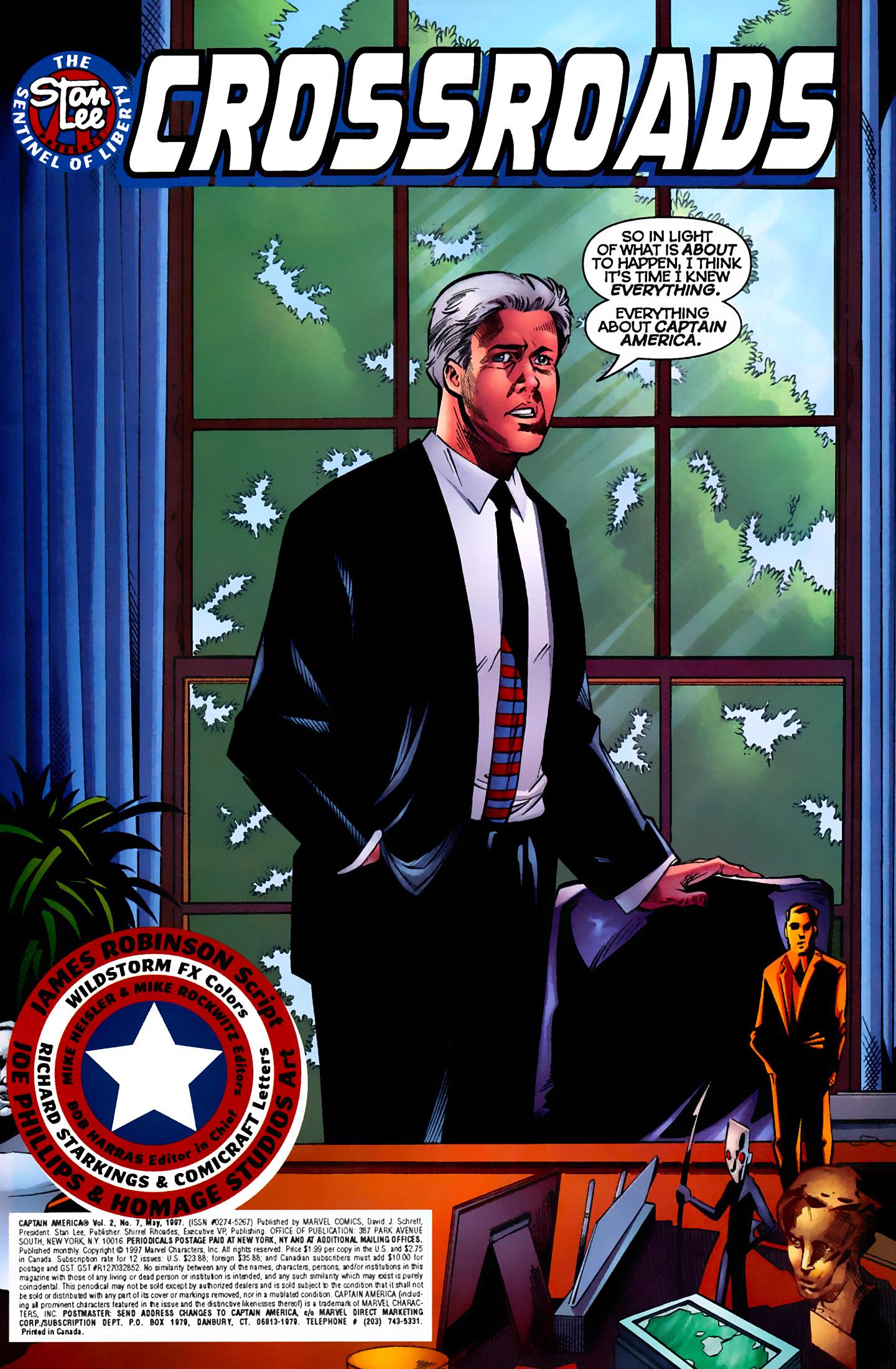 Captain America (1996) Issue #7 #7 - English 2