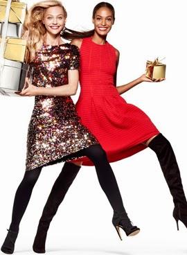 H&M campaña Navidad vestidos fiesta