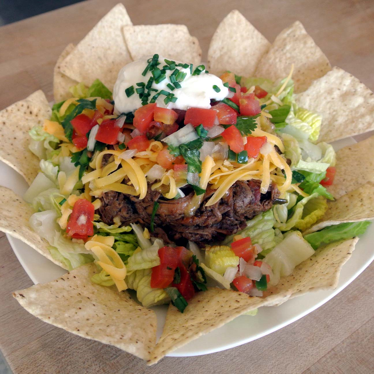 Mom, What's For Dinner?: Carne Asada Taco Salad