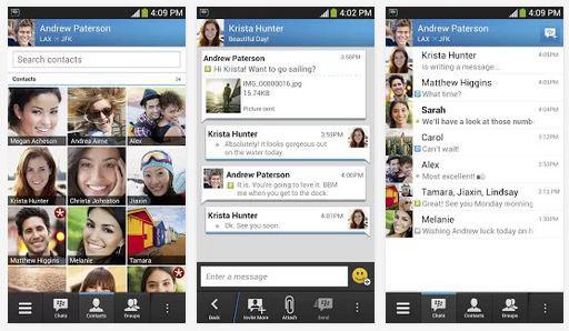 Aplikasi Android BBM Blackberry Messenger