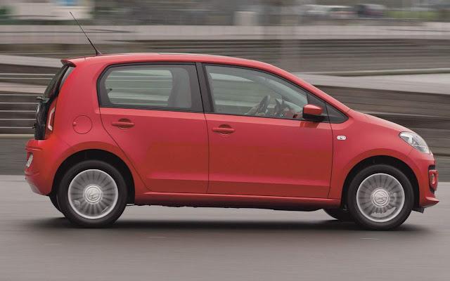 VW Up! é o sub-compacto com melhor satisfação do cliente