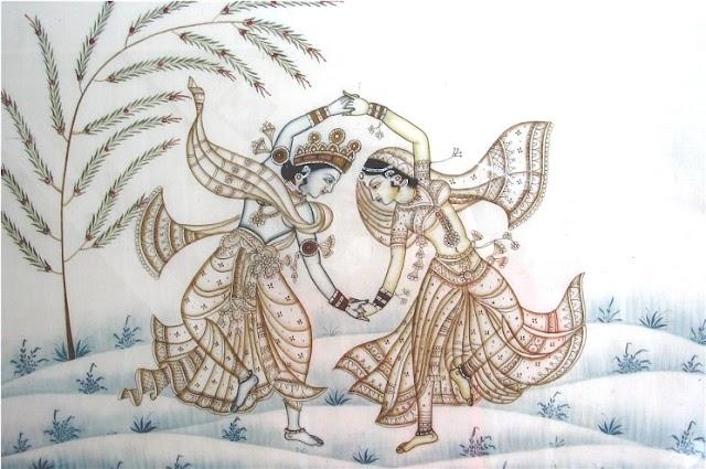 Zoekresultaten Google en bing vergeleken, door middel van Radha en Krishna