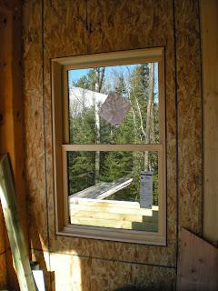 SIP wall, timber frame, Ely Minnesota, Huisman