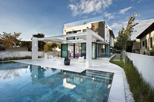 Baires deco design dise o de interiores arquitectura for Casas con piscina y jardin de lujo