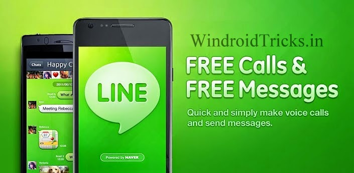 Free recharge using LINE App 2014 Official Offers