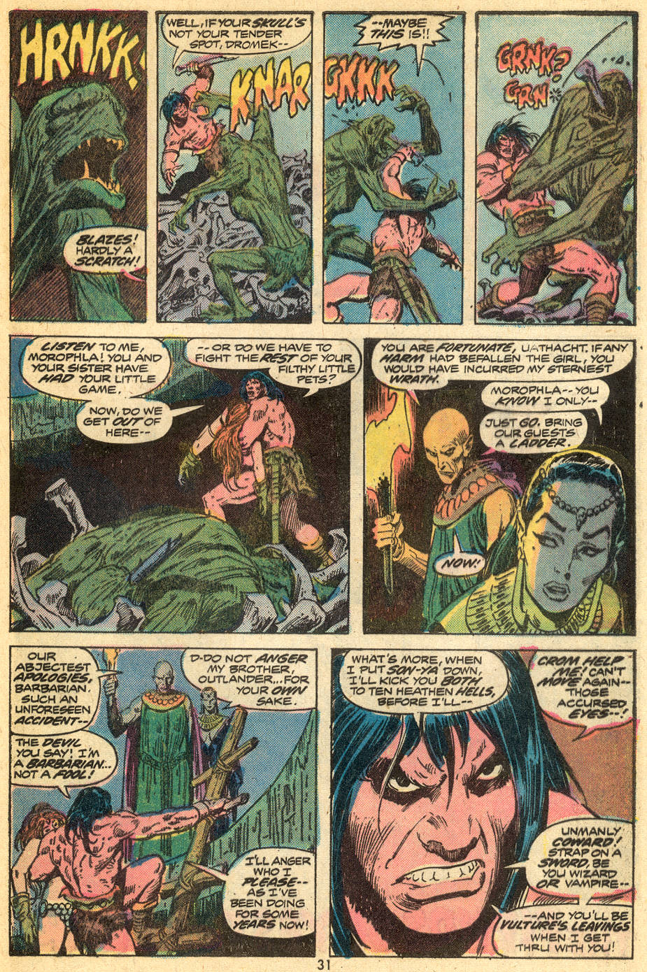 Conan the Barbarian (1970) Issue #43 #55 - English 18