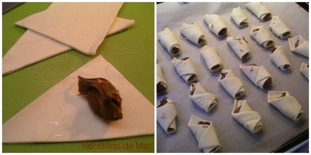 Recetillas de Mer: Bocados de chocolate