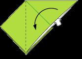 Cara Membuat Origami Belalang