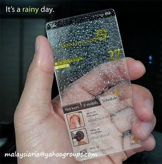 Windows Mobile Phone Transparent Version