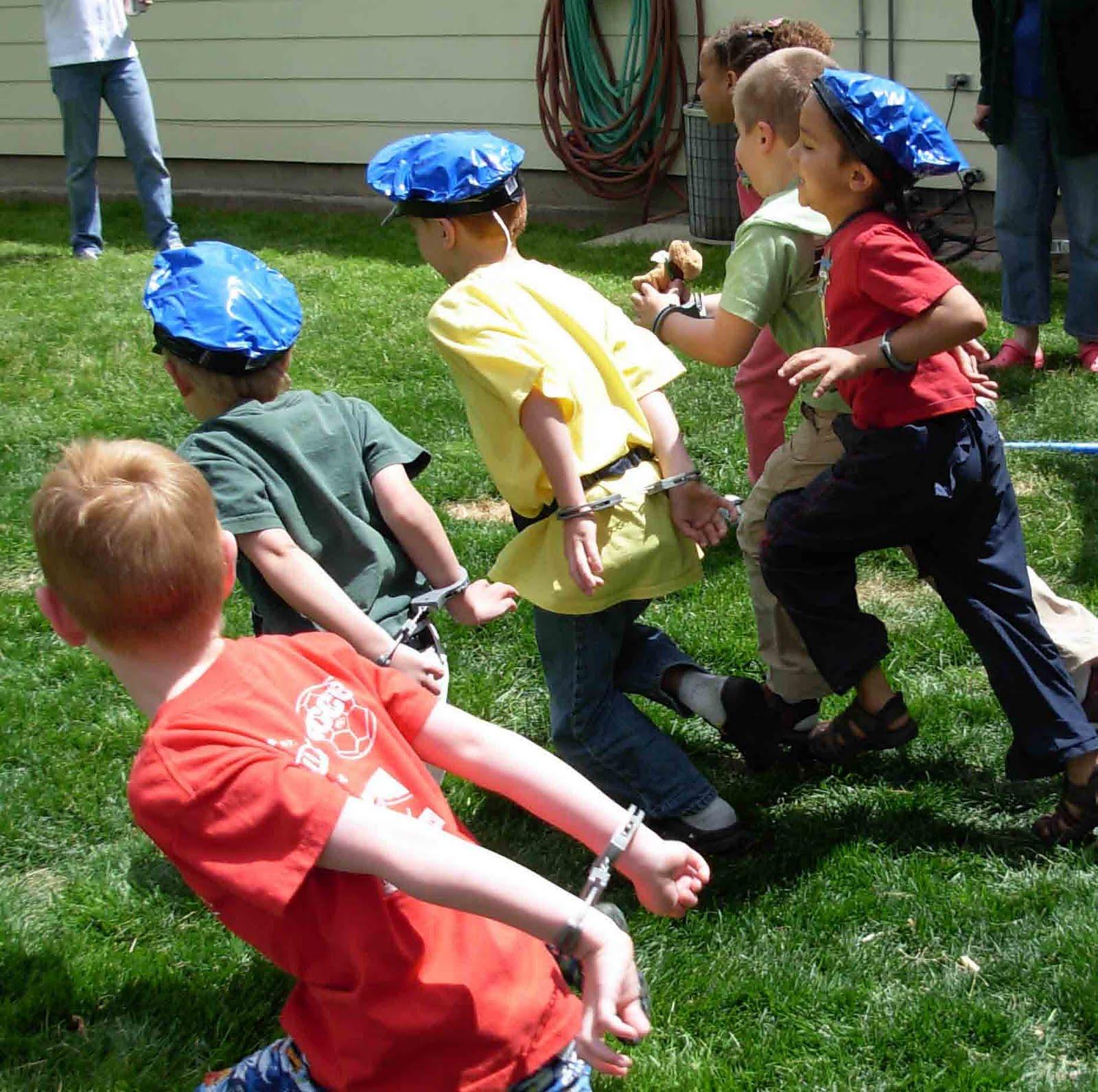 Kids Party Jail Game