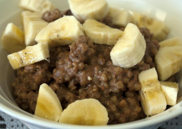 ... Vegan Food: Buckwheat breakfasts, Blueberry Sauce & Baked Bean Salad