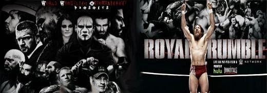 WWE Royal Rumble 2015 HDTV 480p 700MB