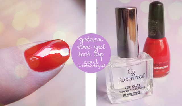 golden rose gel look