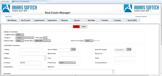 Real Estate Management Software Development Haridwar