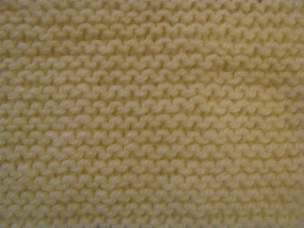 The Wool Shop: How to Knit Garter Stitch