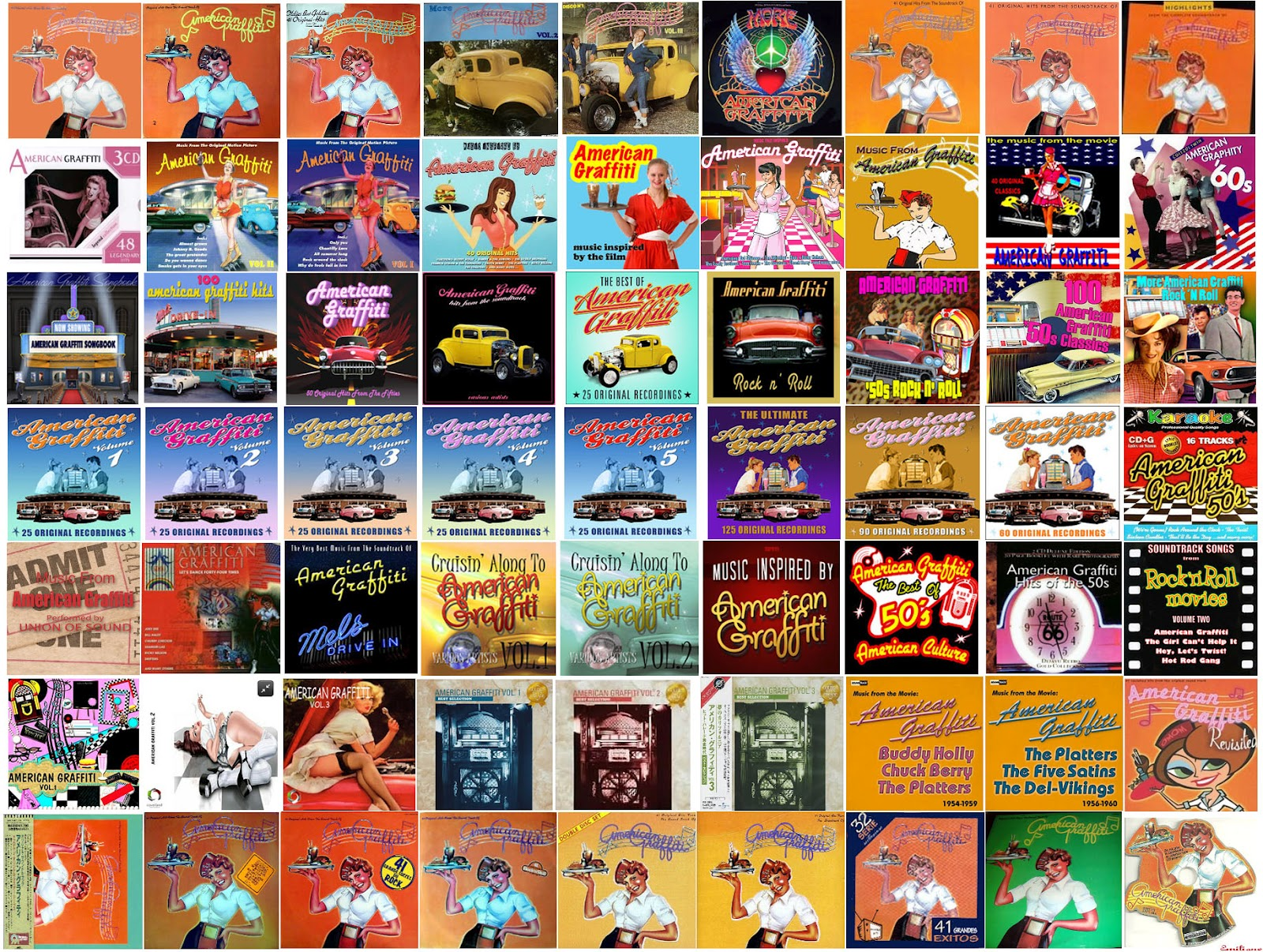 American graffiti and more