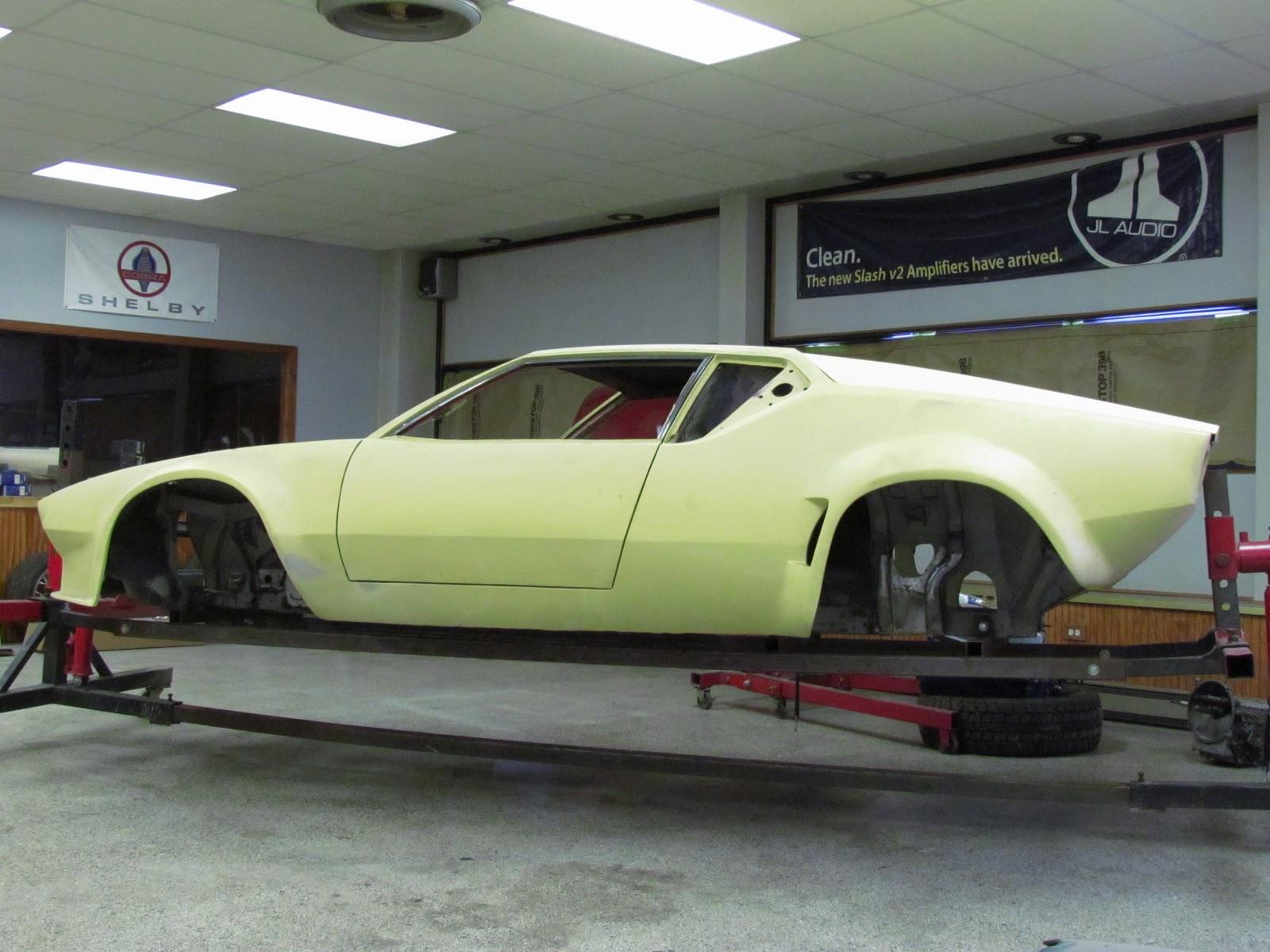 Carson Restoration Service Inc 1971 De Tomaso Pantera