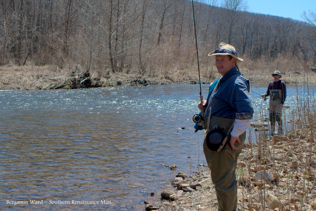 Southern renaissance man jackson river va fly fishing for Fishing report va
