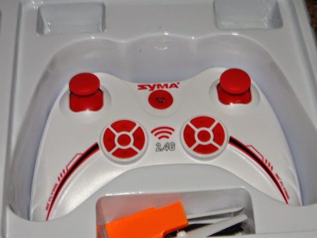 syma x11c transmitter and remote controller