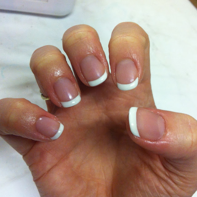 ve seen a French Manicure before and probably one done in CND Shellac