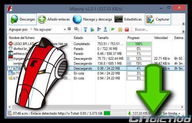 Mipony, el gestor de descargas que estabas buscando ~ Geekxel