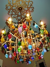 Mementos hand blown glass fruit chandelier from murano italy aloadofball Images