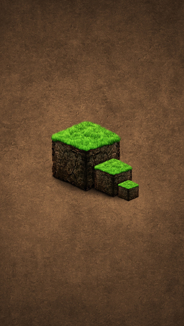 hd minecraft wallpaper iphone