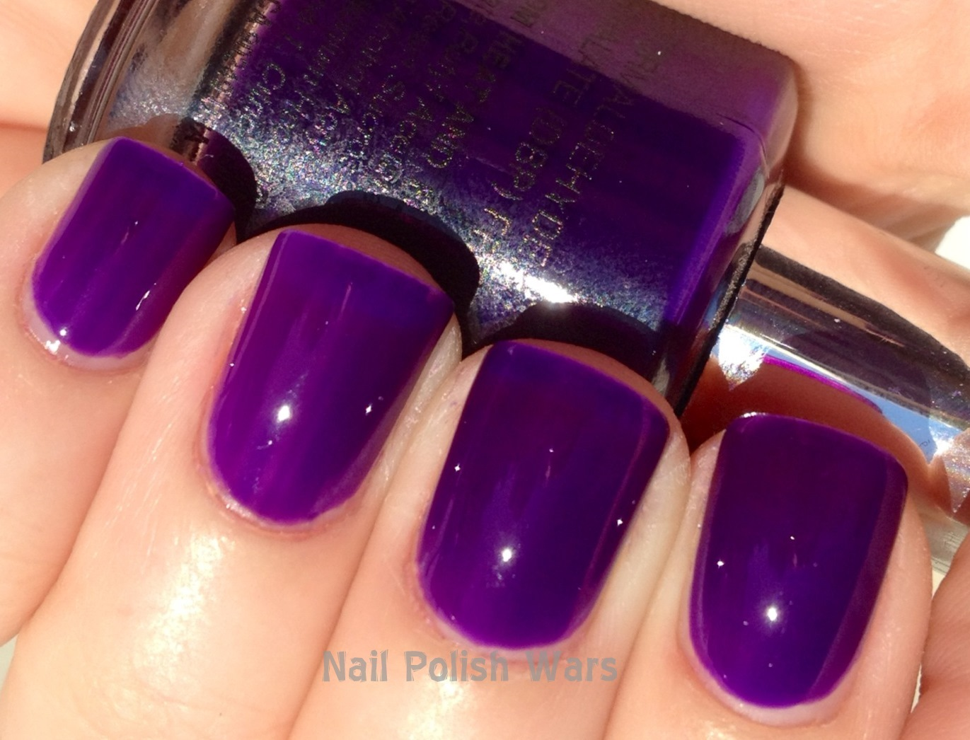 Nail Polish Wars: Madly in lust with Hot Purple