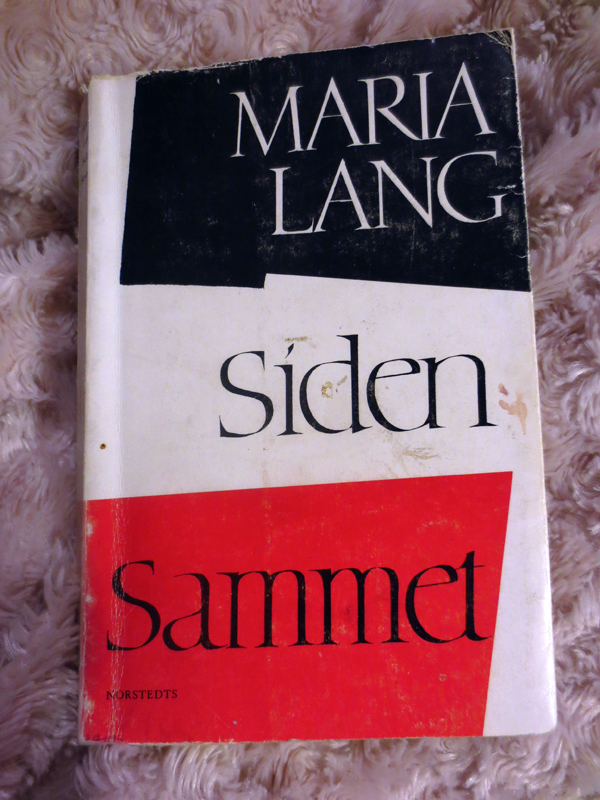 Siden Sammet Maria Lang