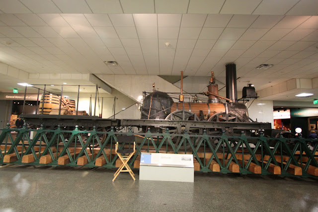 John Bull Locomotive 1831 at Museum of American History in Washington DC, USA