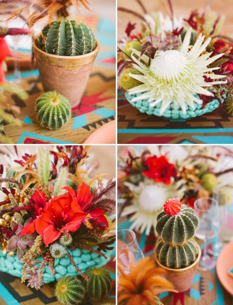 Desert table decor