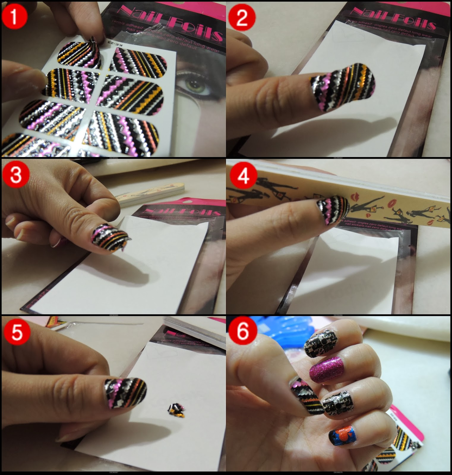 title>How To Apply Foil Nail Stickers | ♥ Beautiful Life