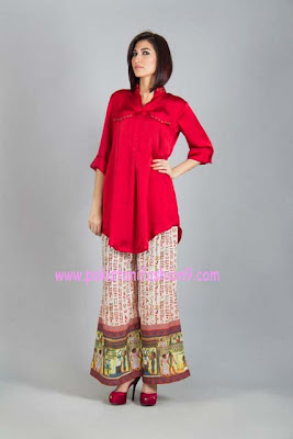 Women's Winter Pret Wear Collection Flairs By Naureen Fayyaz 2013