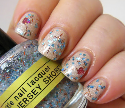 Sparkle Nail Lacquer Jersey Shore swatch