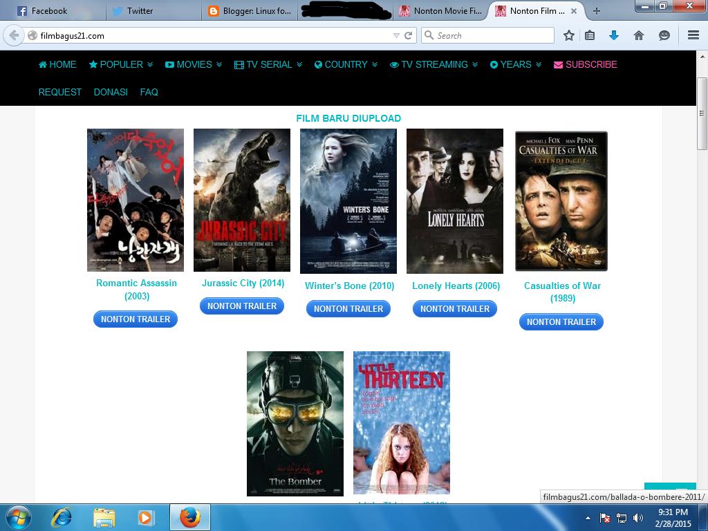Website buat nonton film gratis