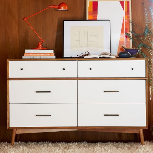 To Paint Or Not My Mid Century Modern Dresser