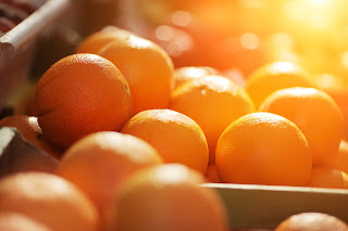 Eat some naturally orange food! It's good for you!
